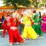 Celebrating 16th  Street Festival In Pokhara