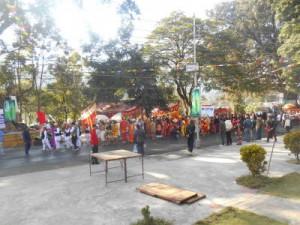 Street festival in Pokhara2
